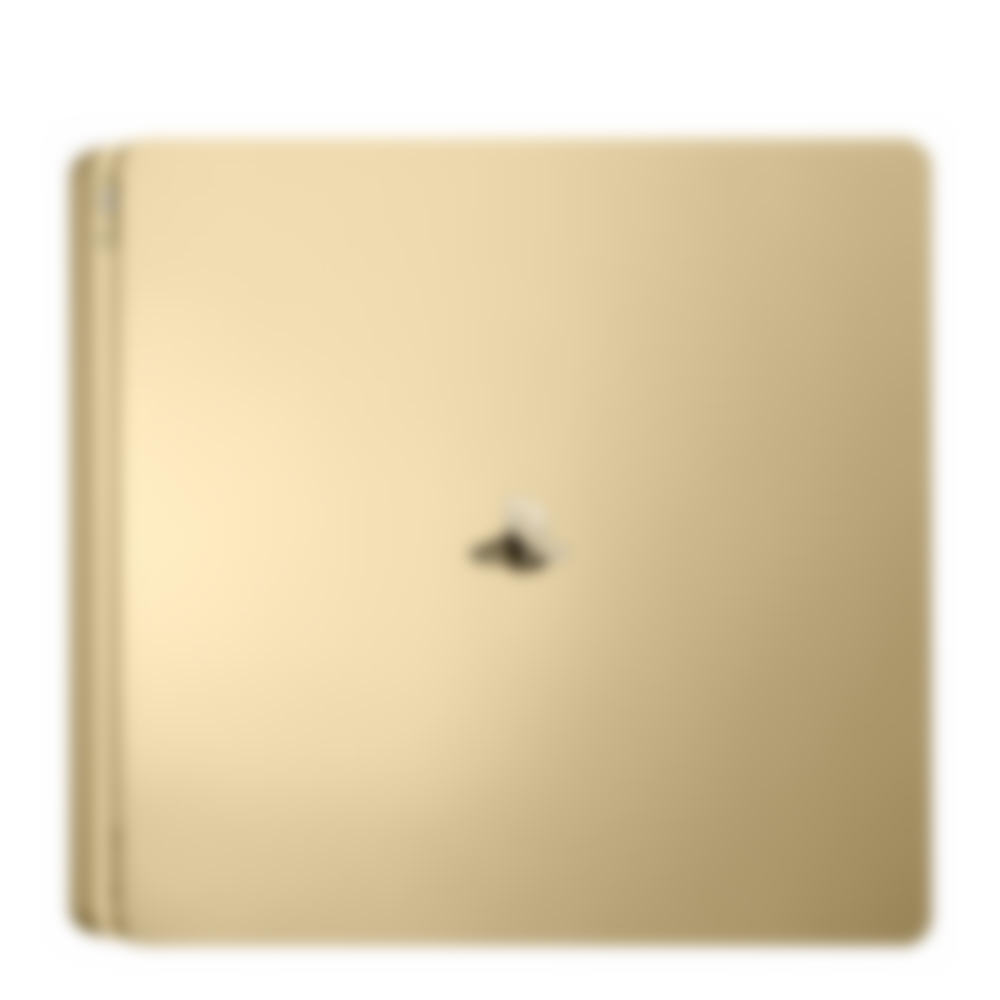 PS4 Slim Gold Console image 1
