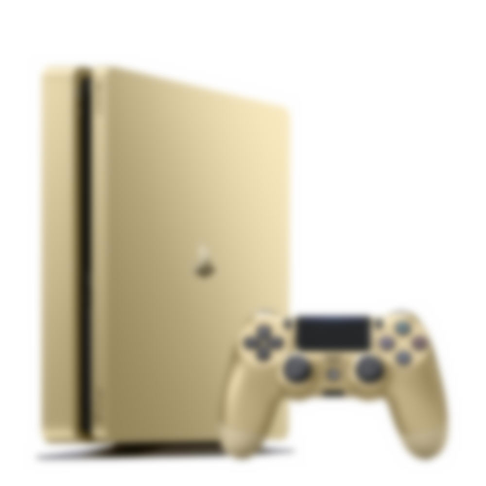 PS4 Slim Gold Console image 2