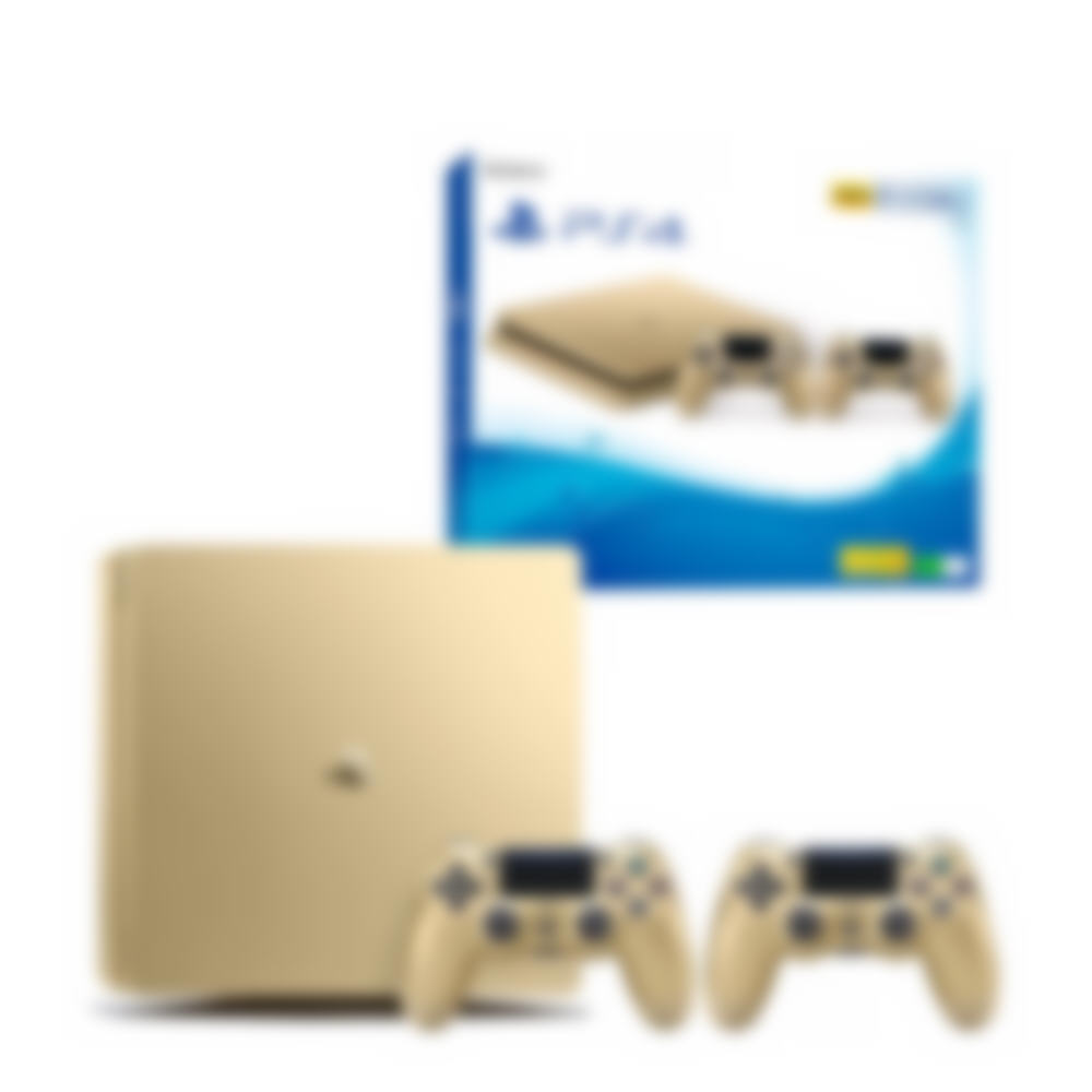 PS4 Slim Gold Console image 5